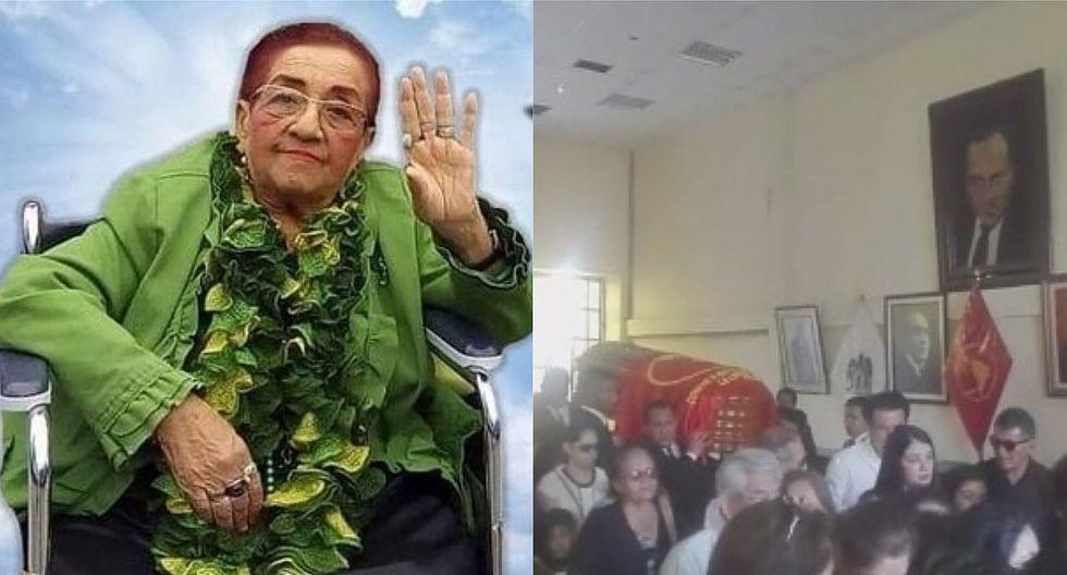 Apristan dan el último adiós a Gladys Cáceres