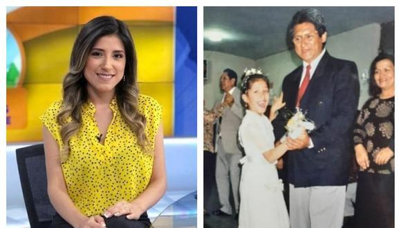 Periodista de Latina lamentó la muerte de su padre por COVID-19. Instagram: Fátima Aguilar
