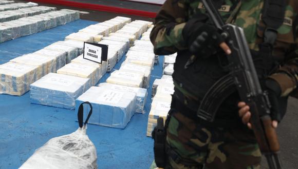 Ayacucho: prisión preventiva para investigado que transportaba más de 9 kilos de cocaína (Foto referencial: archivo GEC)