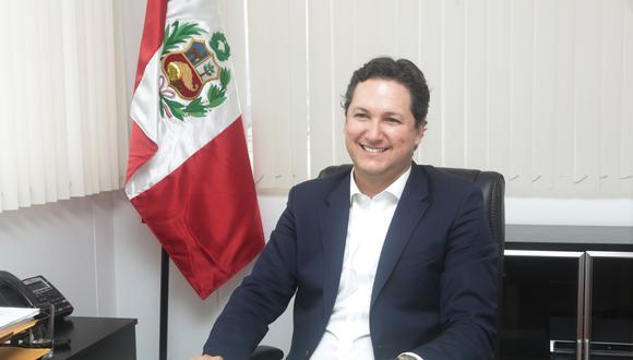 Tribuna Electoral   Candidato presidencial de Somos Perú: Proponemos una nueva Constitución. (Foto: Diana Chávez / GEC)