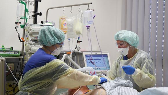 Alemania registró más de 10.000 muertos por COVID-19 desde el comienzo de la pandemia. (Ronny Hartmann / AFP).