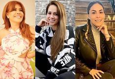 """Magaly Medina sobre distanciamiento de Melissa Klug y Evelyn Vela: """"Qué raro no verlas unidas"""""""