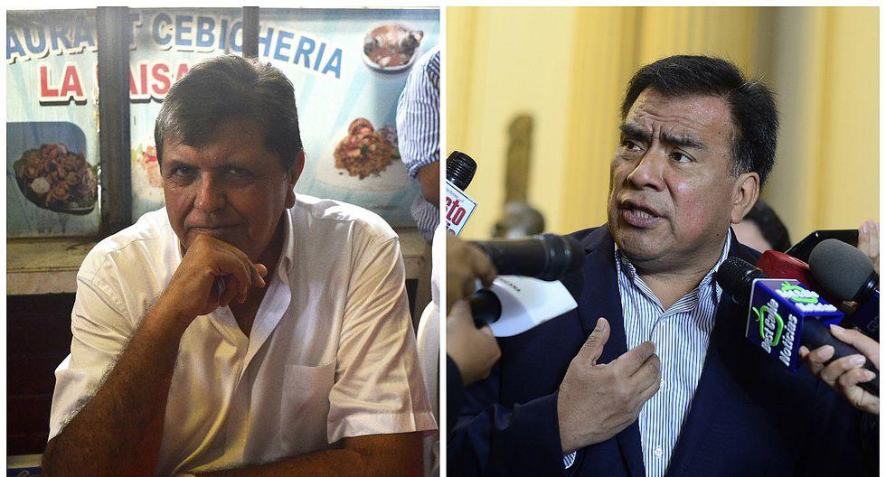 Javier Velásquez Quesquén: Las iniciales AG no tienen nada que ver con Alan García