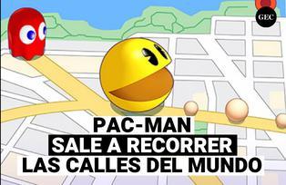 Pac-Man Geo, el nuevo Pac-man en mapas reales