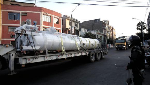 Planta de Oxígeno conseguido gracias a Respira Perú Fotos: César Grados /@photo.gec