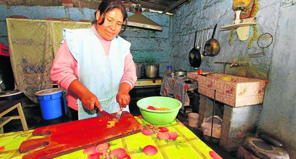 Comedores afectados por la presencia del Fenómeno El Niño