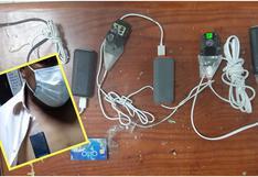 Junín: Intervienen a sujetos que usaban dispositivos durante examen para obtener brevetes