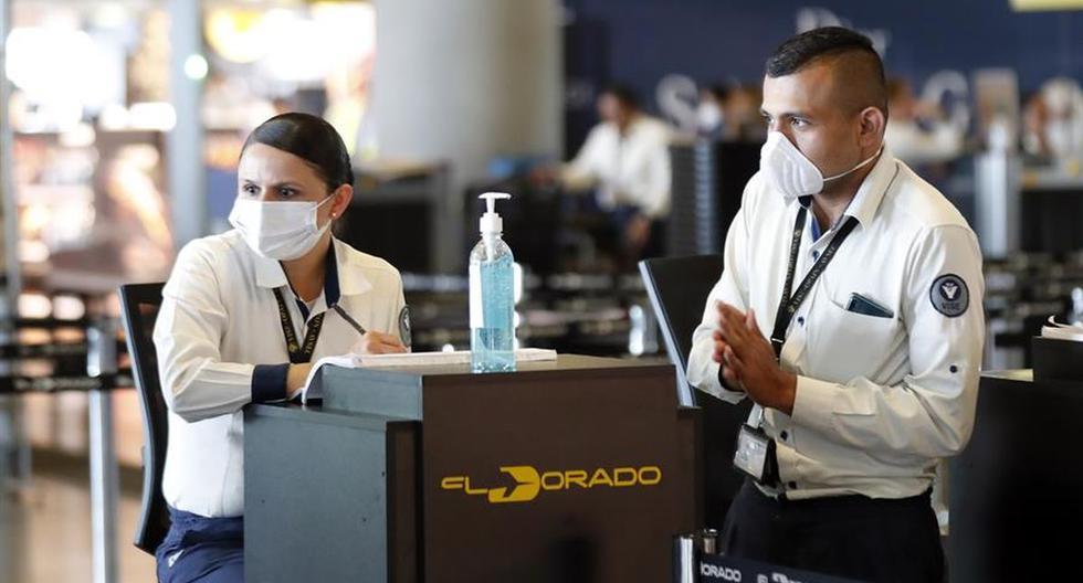 Colombia retoma los vuelos internacionales desde este lunes y anuncia certificación