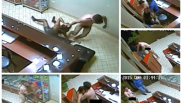 Escándalo: Desnudo hijo de regidor arrastra a exenamorada en hostal e intenta violarla (VIDEO)