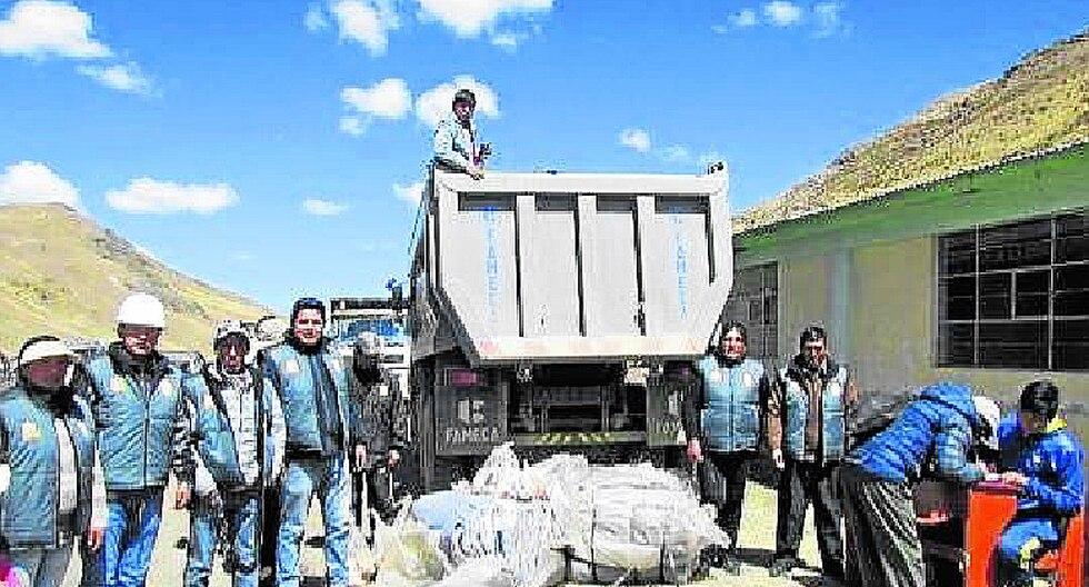 Puno: ayuda humanitaria llega a comunidades del distrito de Ananea