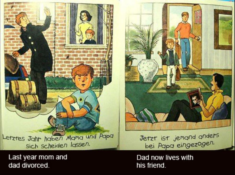 Así explican la homosexualidad a los niños en Alemania (FOTOS)