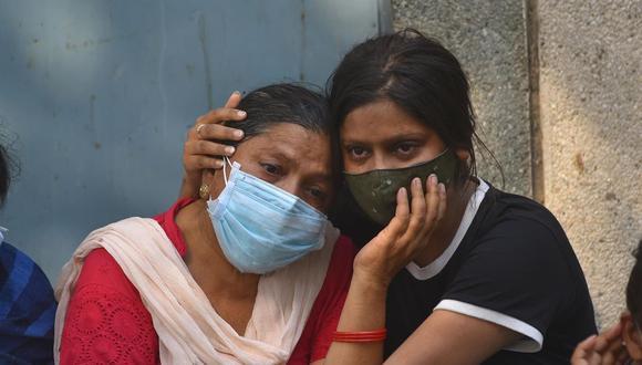India registra más de 400 000 contagios por el coronavirus en 24 horas. (Foto: EFE / EPA / IDREES MOHAMMED)