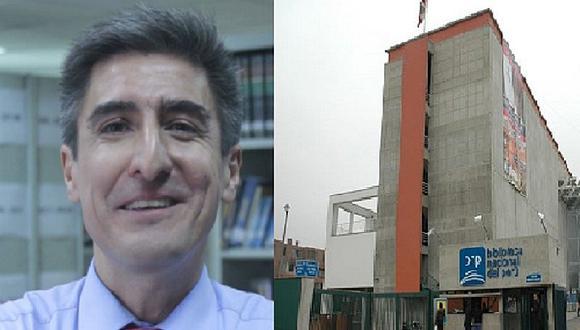 """Alejandro Neyra: """"Haremos que la Biblioteca sea un espacio de mejor y fácil acceso"""""""