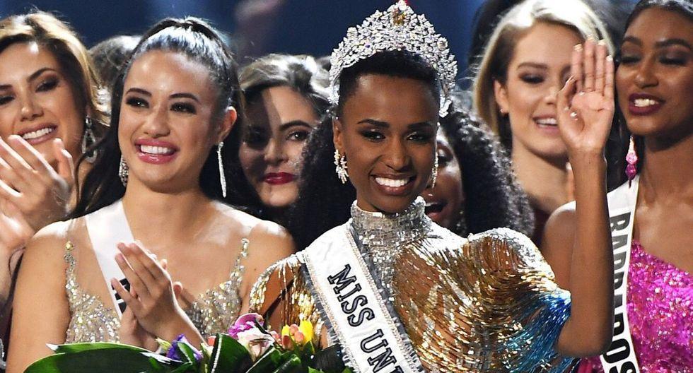 Zozibini Tunzi el domingo fue coronada como Miss Universo 2019 en la ciudad de Atlanta.  (Foto: AFP)