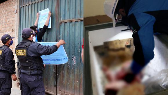 Cajamarca: Encuentran heces de roedores en local donde se comercializaba pollos (Foto: Municipalidad Provincial de Cajamarca)