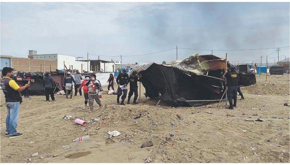 Organizaciones criminales que operan en Trujillo con amenazas y a balazos despojan de sus casas a humildes familias.