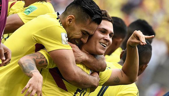 Colombia vs Japón: Juan Quintero empató el partido con golazo de tiro libre (VIDEO)