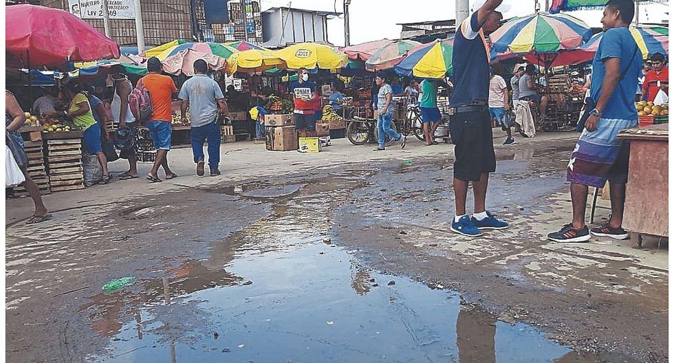 Insalubridad impera en el mercado de Tumbes