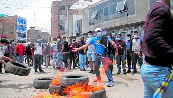 Protesta de transportistas por cuarto día consecutivo