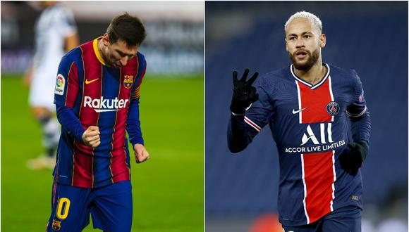 Lionel Messi respondió a Neymar sobre el deseo de jugar juntos en 2021. (Fotos: @FCBarcelona_es/ EFE)
