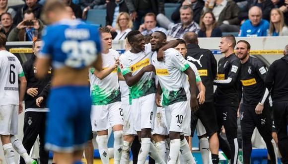 Borussia Mönchengladbach es cuarto clasificado en la presente temporada de la Bundesliga. (Foto: Borussia Mönchengladbach)