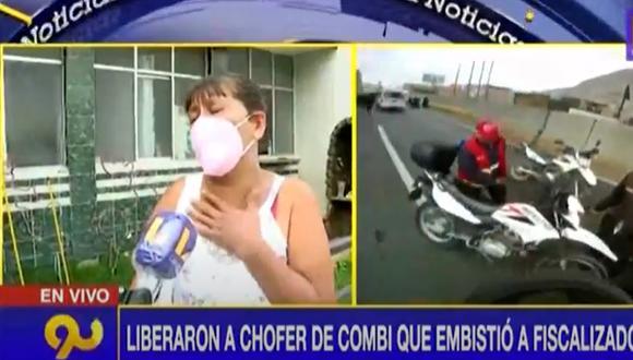 Madre de fiscalizadora atropellada pide justicia. (Latina)