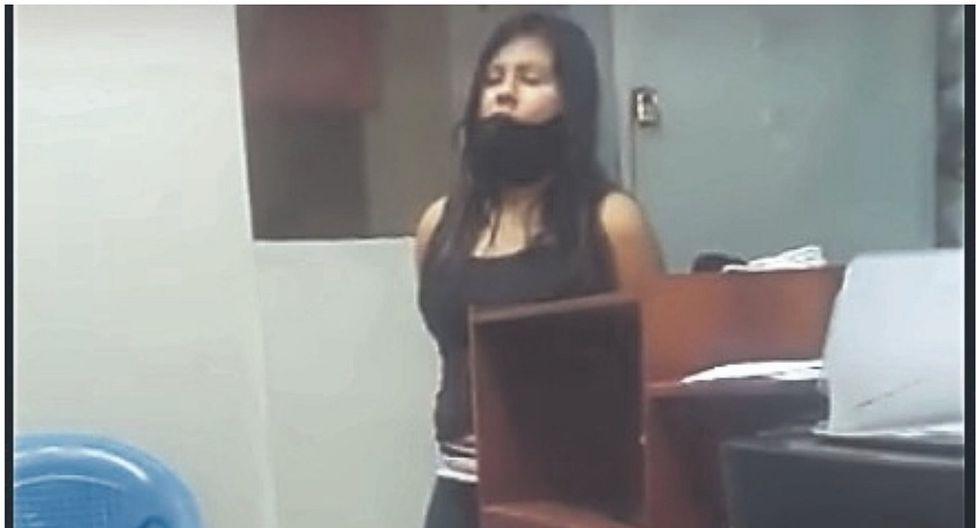 Áncash: Fiorela Nolasco es detenida por agresión a policías