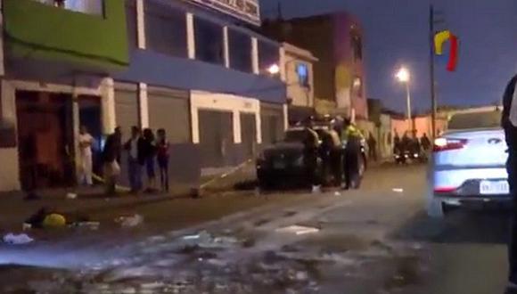 Callao: Acribillan a adolescente por disputa de zona donde asaltaban a taxistas (VIDEO)