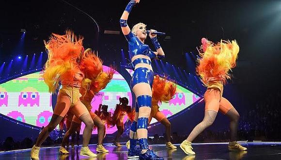 Katy Perry: Zonas para el concierto empiezan a agotarse