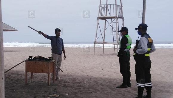 Instalarán garitas de control en playas de Los Palos