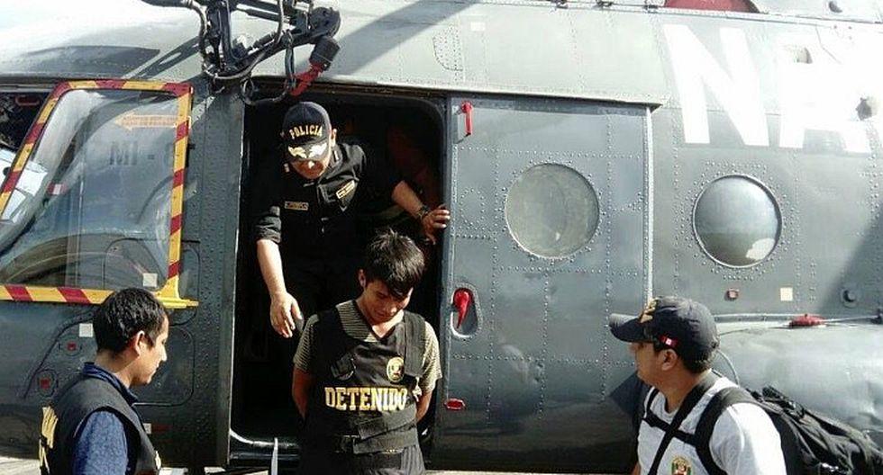 Disponen traslado a Lima de presunto disidente de las FARC capturado en Loreto