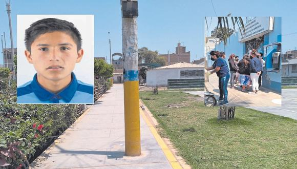 Sucedió en el parque del pueblo joven Saúl Cantoral en Chiclayo. Asesinos huyeron en motocicleta.
