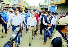 Chimbote: Se inicia control en el mercado La Perla