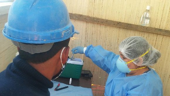 Huancavelica: Dos trabajadores en obra del GRH dan positivo al COVID-19