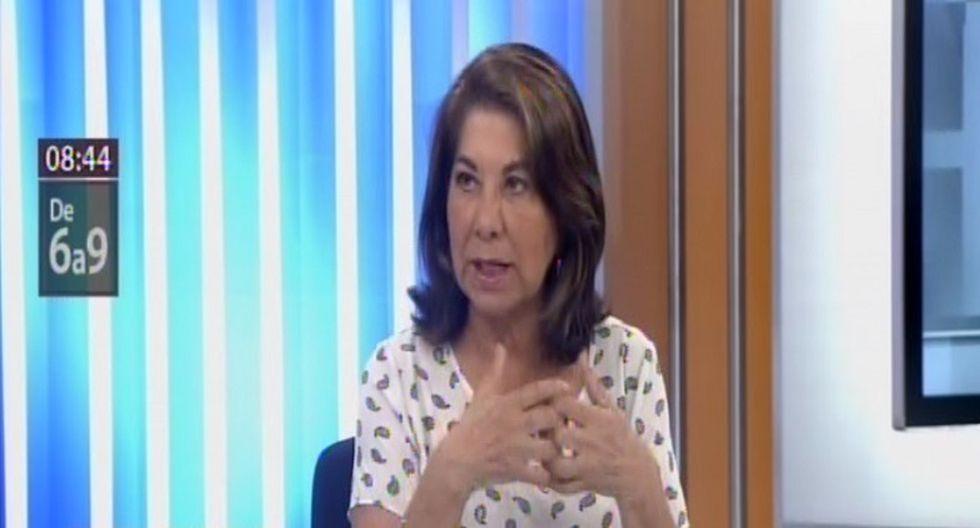 Martha Chávez (Foto: Captura Canal N)