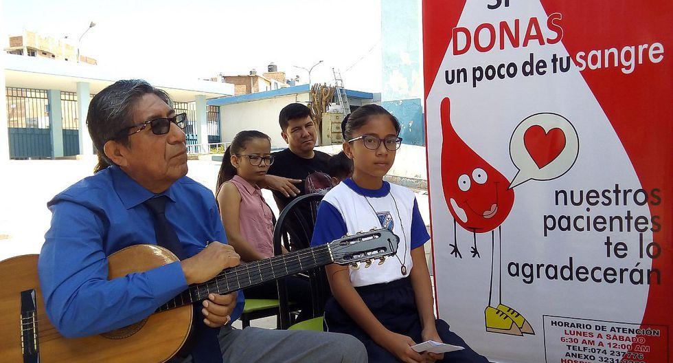 Celebran Día Mundial del Donante Voluntario de Sangre en Lambayeque