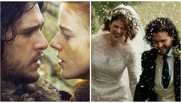 Game of Thrones: Actores se casaron en un castillo de Escocia (FOTOS)