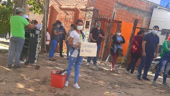 Karla Villarroel complementa su salario haciendo trabajos extra. Ella ha trabajado en diversos canales de televisión de Bolivia. (Foto: Karla Beahed Villarroel Vaca | Facebook)