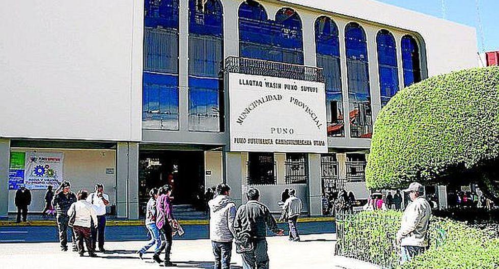 Concejo Municipal de Puno desaprobó implementar SAT en nuevo organigrama