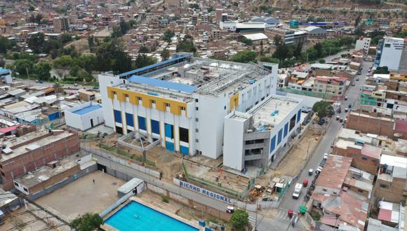 Después de 4 años terminan ejecución de millonaria obra/foto:Diario Correo
