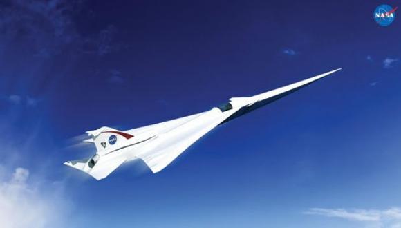 Diseñarán un avión supersónico silencioso para la NASA
