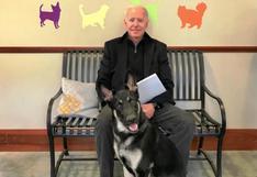 Joe Biden se rompe el pie jugando con su perro