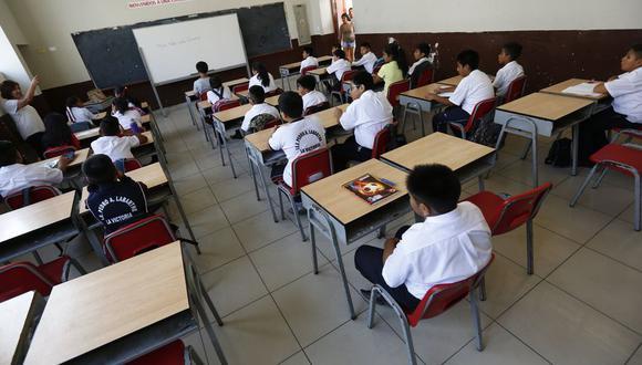 Minedu publicó cronograma para el proceso de contratación de auxiliares educativos