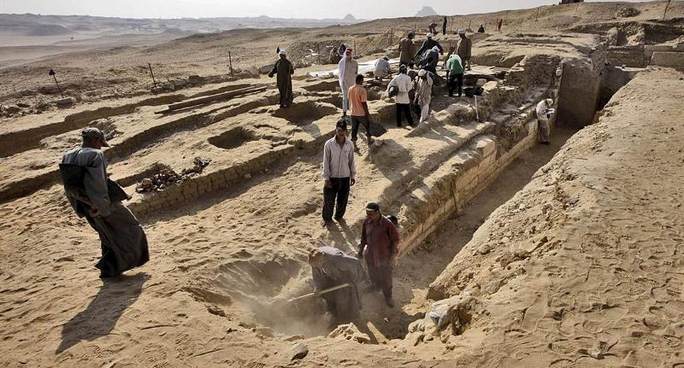 Egipto: Descubren tumba de médico real de hace 4 mil años