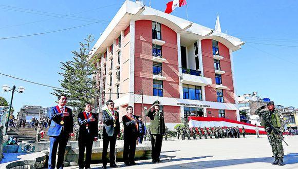Huancayo celebra su 447 aniversario con un retrasode al menos treinta años