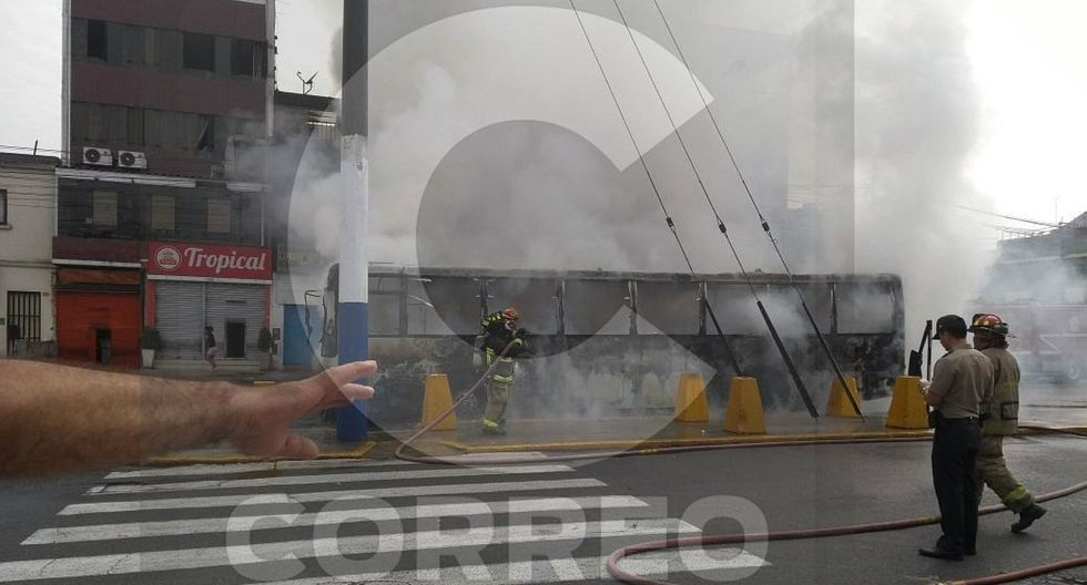 Protransporte: Accidente de bus en el Rímac se debió a desperfectos técnicos (FOTOS Y VIDEO)