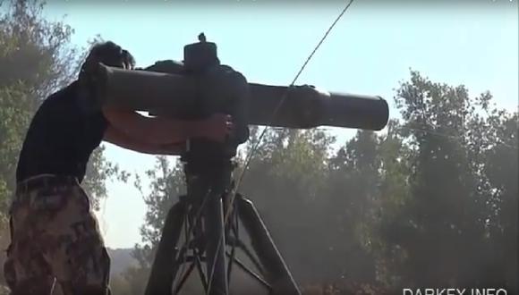 VIDEO: Rebeldes sirios armados por EE.UU. destruyen helicóptero ruso