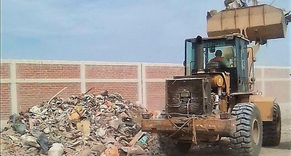 Multarán con 840 soles a los que arrojen basura y desmonte