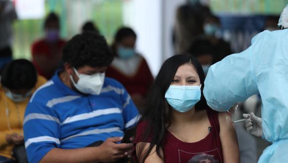 Geresa reporta al año que 400 menores se embarazan en la región. Dos mil gestantes se inmunizaron con 2 dosis. (Foto: Andina)