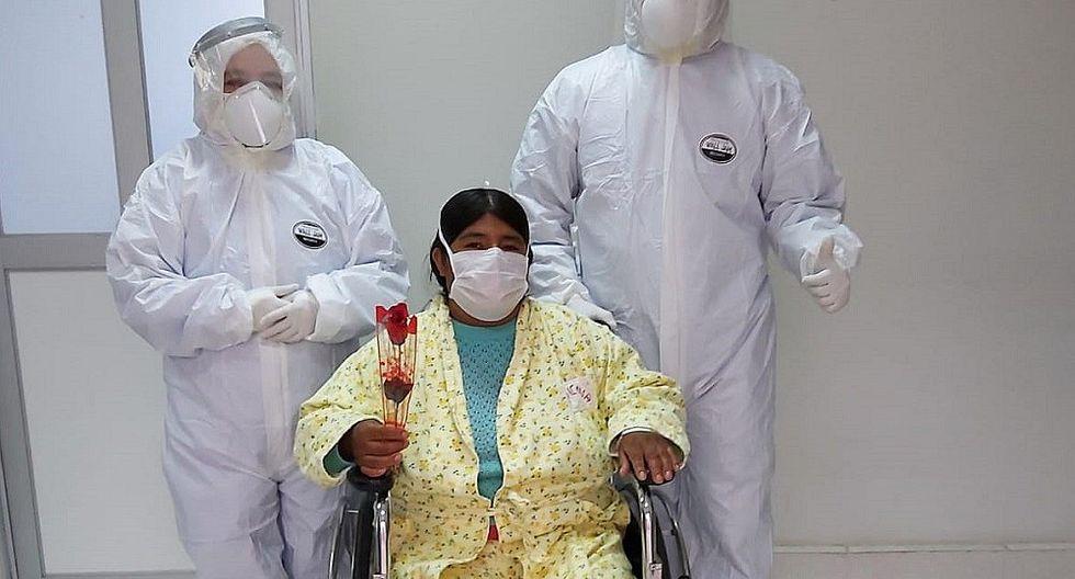 HUANCAVELICA: 36 pacientes son dados de alta